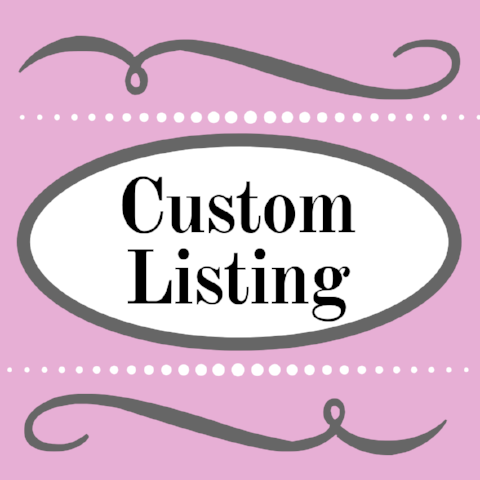 Custom Listing for SR