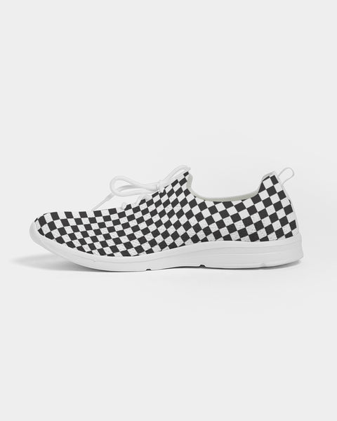 Checkers Women's Lace Up Flyknit Shoe