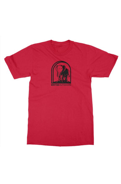 Bantoo Black Logo Mens Tee - bantoooutdoors
