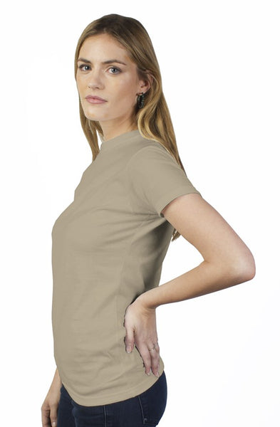 bantoo white logo women's tee - bantoooutdoors