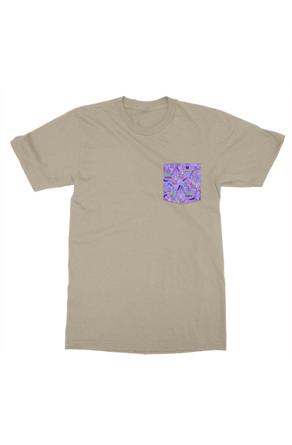 Bantoo Mens Yoga pocket tshirt