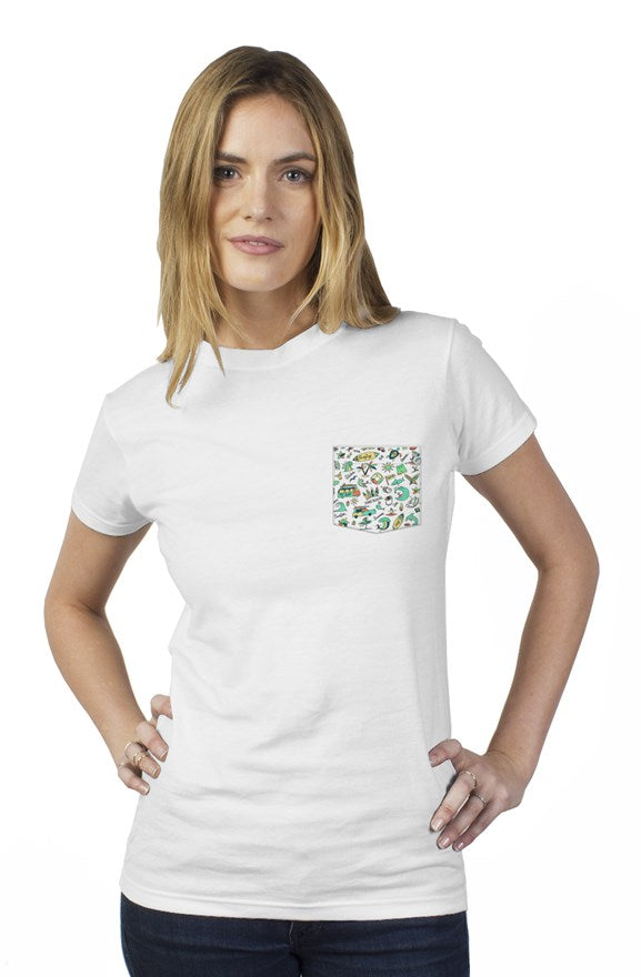 bantoo surf womens tee