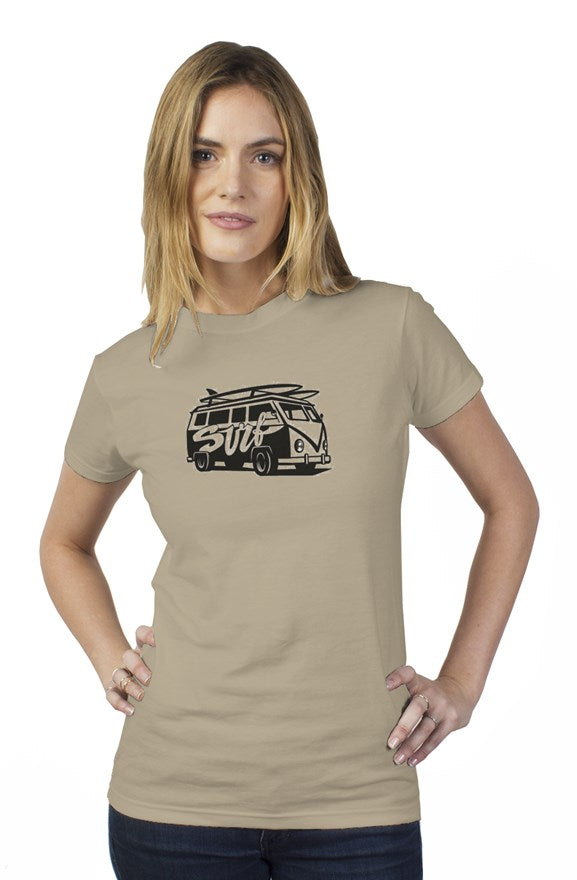 Bantoo Surf Van ladies tee