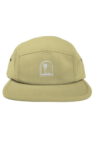 Bantoo white logo 5 panel hat