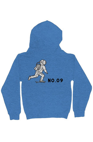 Bantoo Astronaut Youth Midweight Hooded Full-Zip Sweatshirt