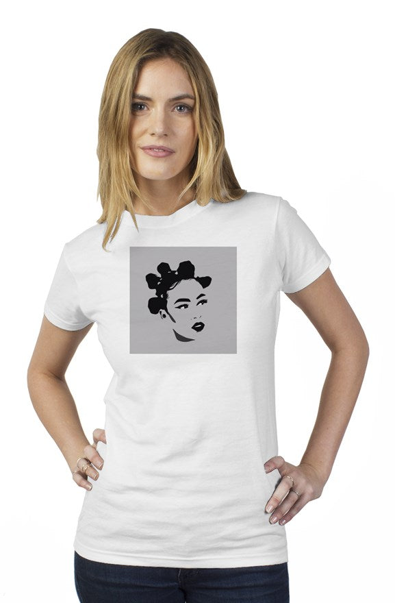 Bantu knot womens t shirt
