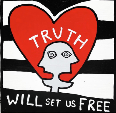 The Truth Will Set You Free - Hudson Valley-based Artist Ryan Cronin