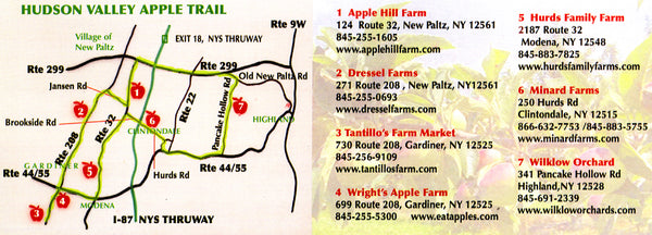 hudson valley apple trail