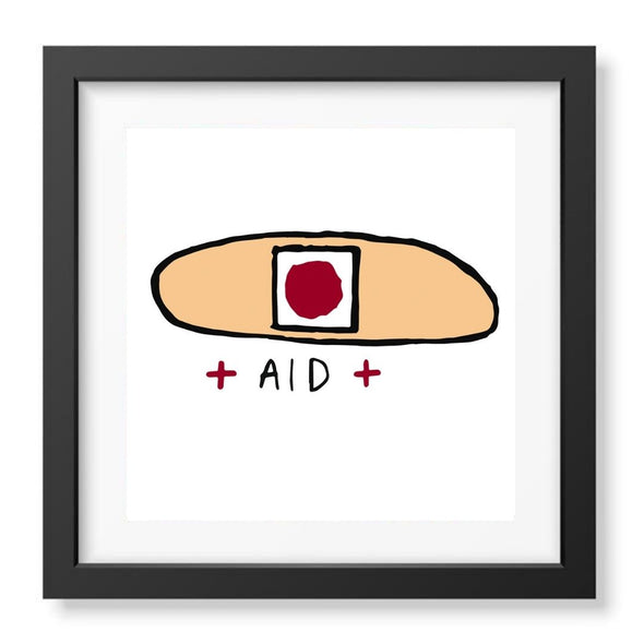 Band Aid Signed Print