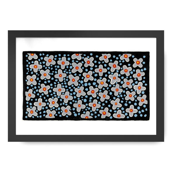 Flowers At Night Signed Print