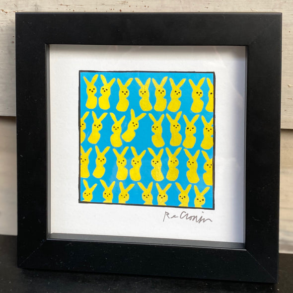 THIS ONE GOES OUT TO ALL OF MY PEEPS - Framed Mini Print