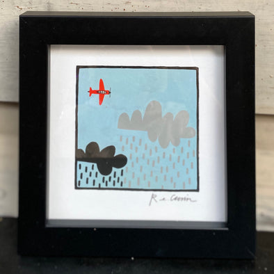 ROGER THAT V - Framed Mini Print