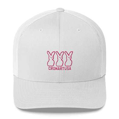 Bunnies Six Panel Trucker Cap