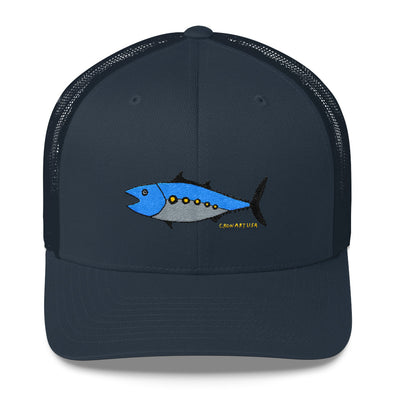Fish Six Panel Trucker Hat