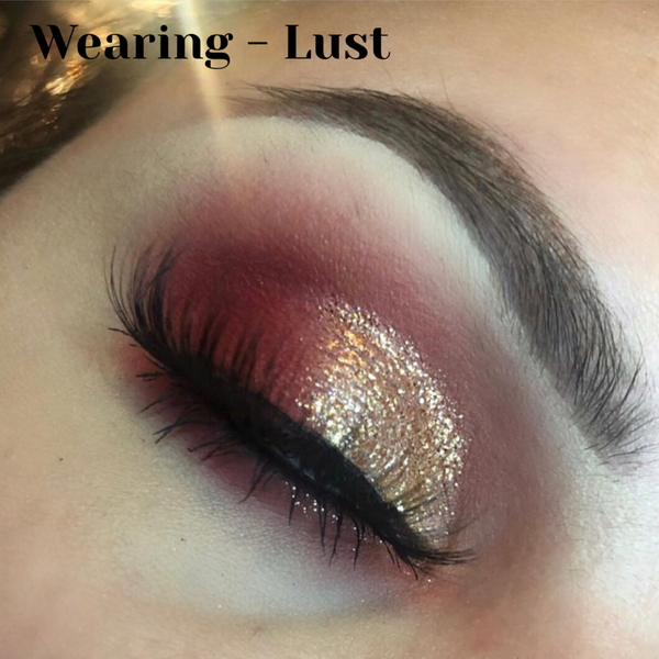 Diamond Glitter Eyeshadow - Lust - Kaima cosmetics