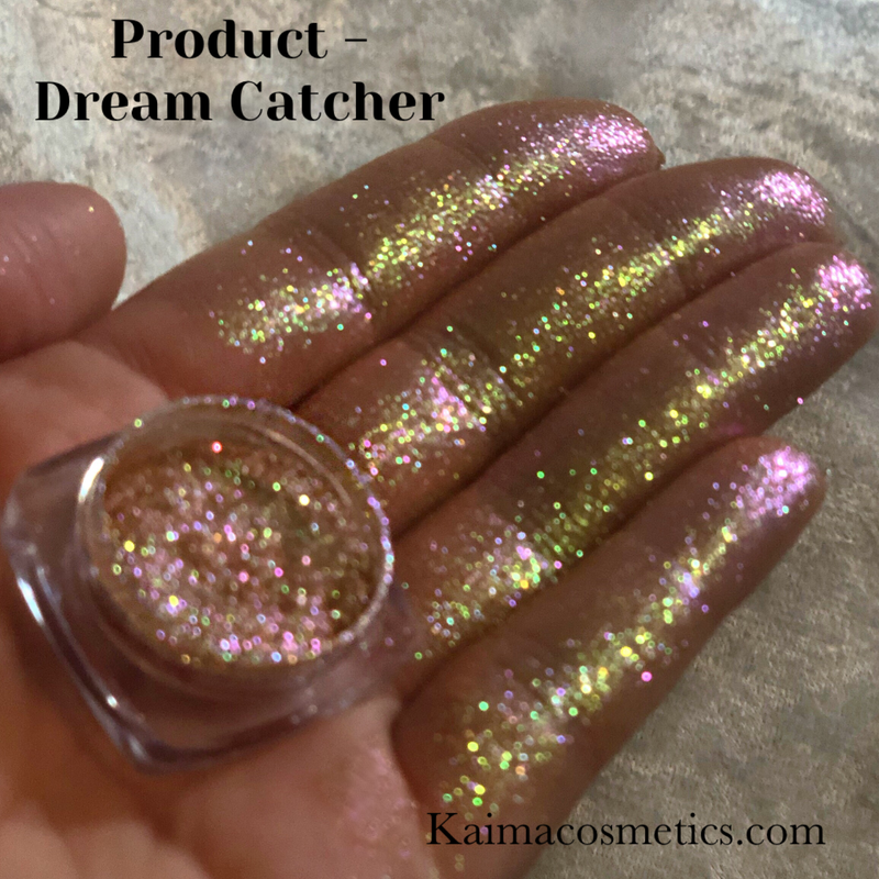 Duochrome Eyeshadow Pigment - Dream catcher - Kaima cosmetics