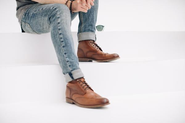 How to: Style Leather Dress Shoes With Jeans
