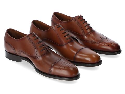 Hartt Director York and Brunswick Oxfords brown leather