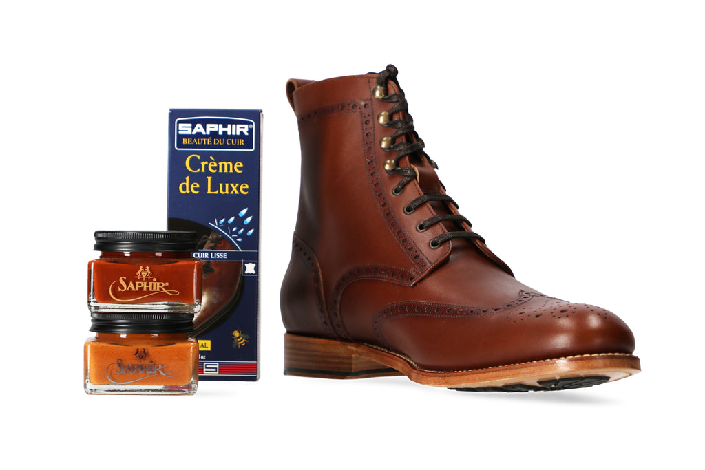 Hartt Bedford boot with Saphir Creams