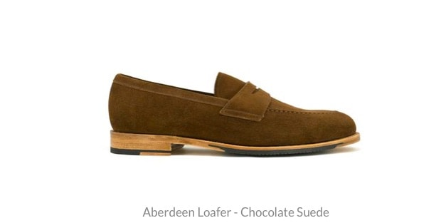 hartt brown suede loafers