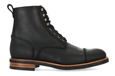 Hartt Shadow Brewers boot black leather