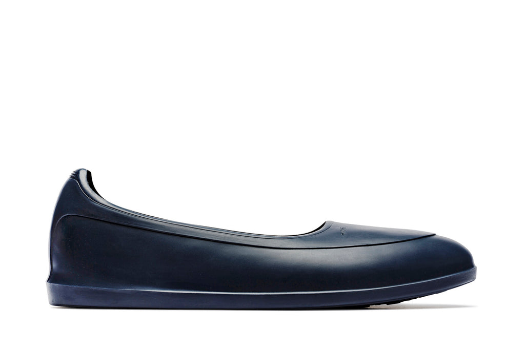 Swims rubber shoe galosh navy - side