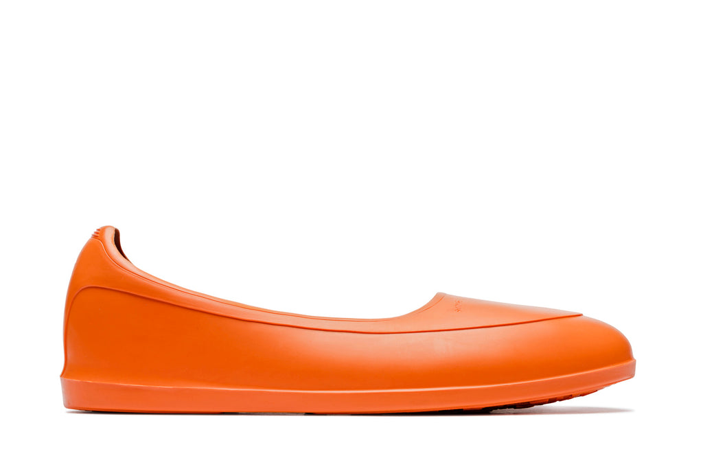 Swims rubber shoe galosh orange - side