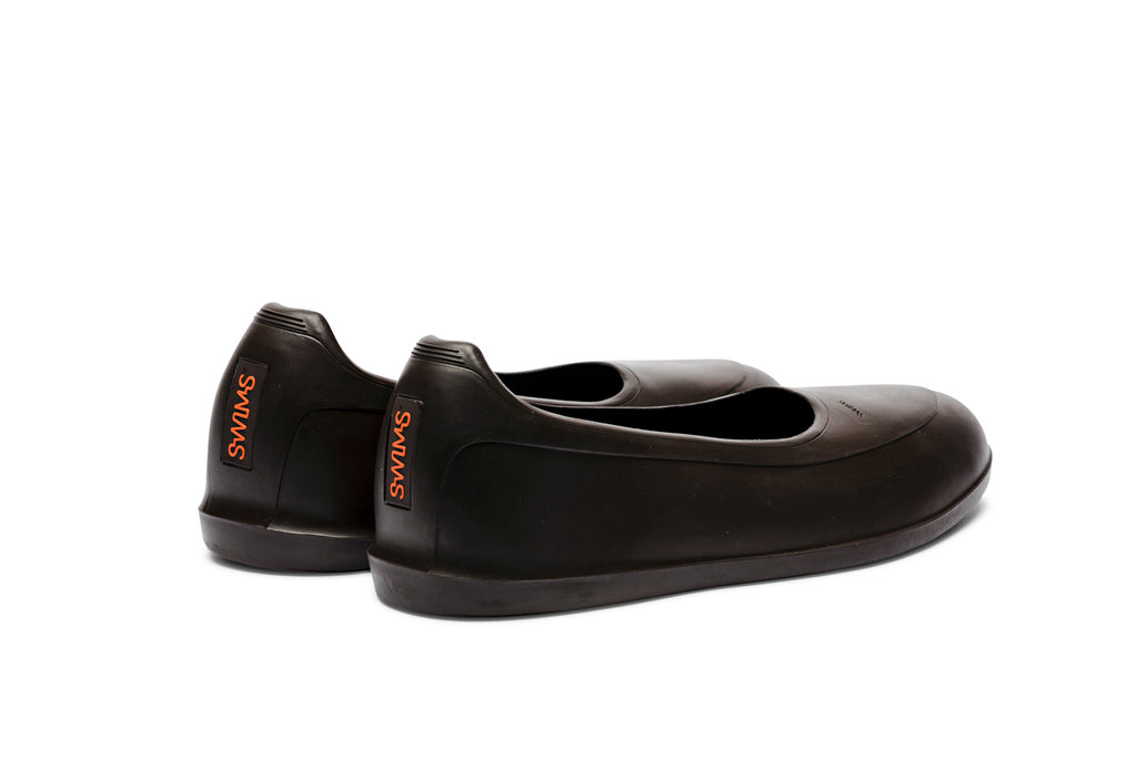 Swims rubber shoe galosh brown - back