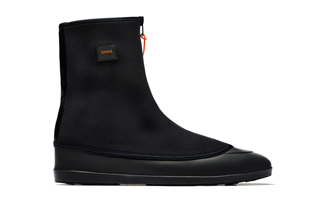 Swims Black Boot Galosh side