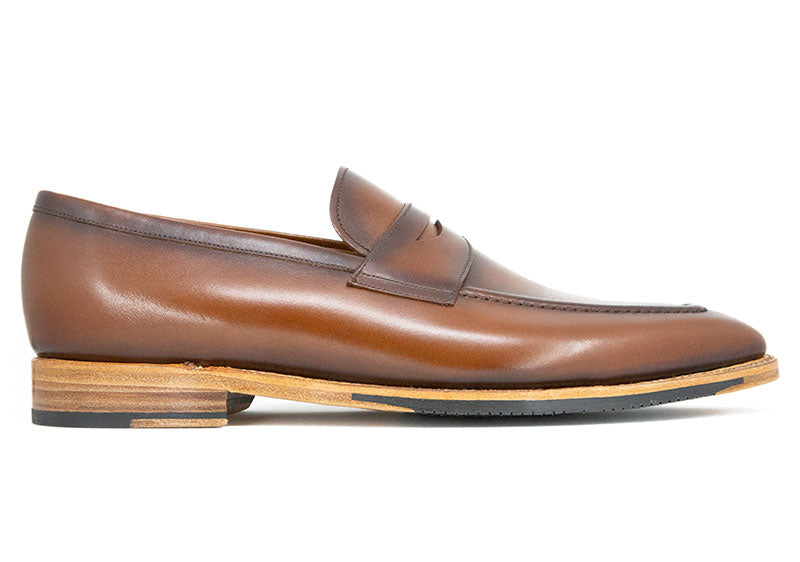 Men's Canadian Brown Montgomery Leather Loafer Dress Shoe