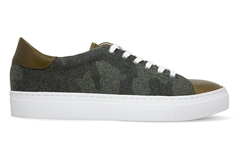 Men's Camo Leather Canadian Sneaker