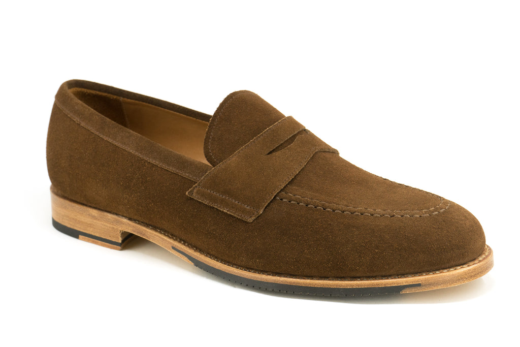 The Aberdeen Loafer in Suede is a Goodyear Welted Men's Loafer