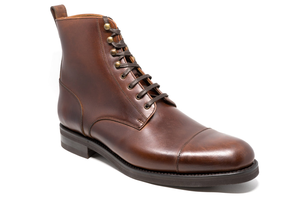 Men's Brewer's Canadian Leather Boot factory second