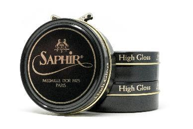 Dark Blue Saphir polish for Leather Shoe And Boot