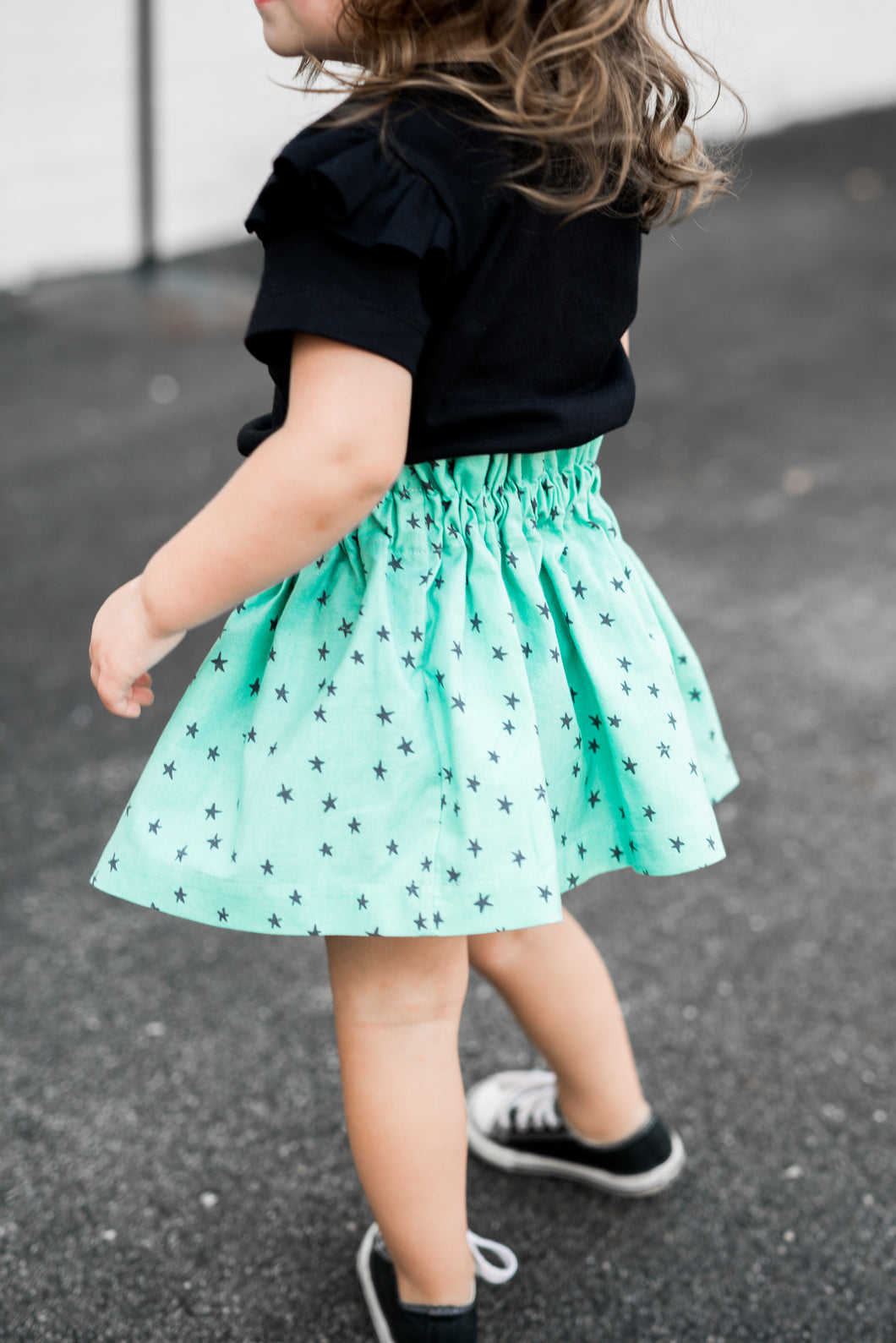 Starry Seaglass Twirl Skirt