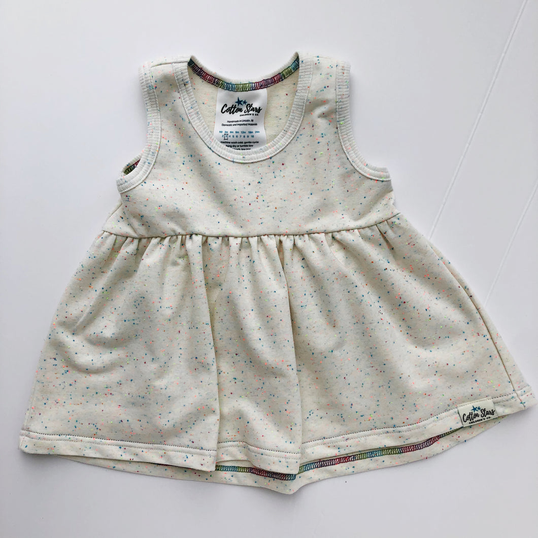 Children's Funfetti Peplum Top