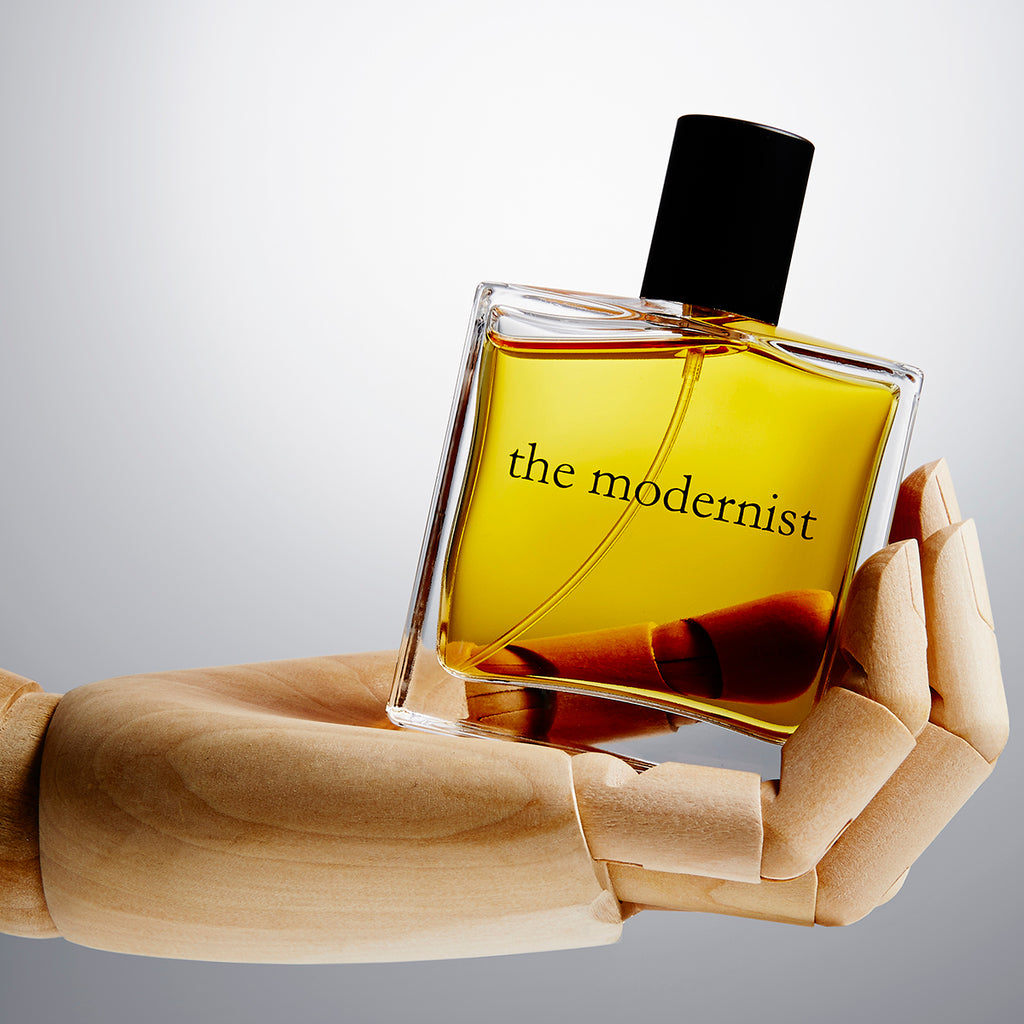 the modernist unisex eau de parfum made in england