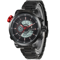 Muti-function Stainless Steel Strap Wristwatch - BLUENYLEDIRECT