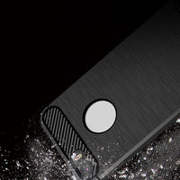 Bakeey 1.5mm Thickness Carbon Fiber TPU Case For iPhone 5 5S SE - BLUENYLEDIRECT