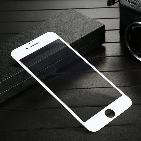 Baseus PET 0.23mm 3D Frosted Arc Edge Scratch Resistant Tempered Glass Screen Protector For iPhone 6/6s - BLUENYLEDIRECT