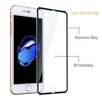 3D Curved Edge Clear Tempered Glass Full Coverage For iPhone 7 Plus 7 Titanium Protective Film Screen Protector For iPhone 6 6s - BLUENYLEDIRECT