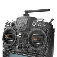 FrSky 2.4G 16CH Taranis X9D Plus SE Transmitter SPECIAL EDITION w/ M9 Sensor Water Transfer Case - BLUENYLEDIRECT