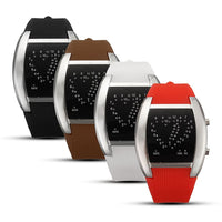Men's & Women Dual-Heart Shape Display lovers Watches - BLUENYLEDIRECT