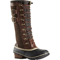 SOREL Women's Conquest Carly II Snow Boot - BLUENYLEDIRECT