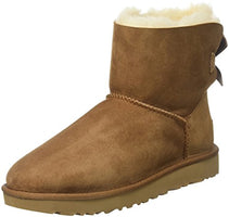 UGG Women's Mini Bailey Bow II Winter Boot - BLUENYLEDIRECT