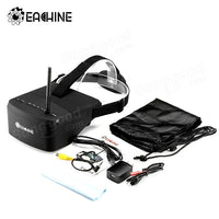 Eachine EV800 5 Inches 800x480 FPV Goggles 5.8G 40CH Raceband Auto-Searching Build In Battery - BLUENYLEDIRECT