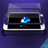 Tempered Glass Film Screen Protector Only for 360° Full Body Case for iPhone 6 & 6s & 7 - BLUENYLEDIRECT