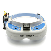 Fatshark Dominator V3 FPV Video Goggles Glasses WVGA 720p HDMI 800X480 With 18650 Battery Case - BLUENYLEDIRECT