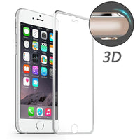 ENKAY Aluminum Alloy 3D Arc Edge 0.2mm 9H Tempered Glass Screen Protector for iPhone 6 6s - BLUENYLEDIRECT