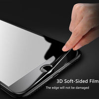 "Bakeey 3D Soft Edge Carbon Fiber Tempered Glass Screen Protector For iPhone 6/6s 4.7"" - BLUENYLEDIRECT"